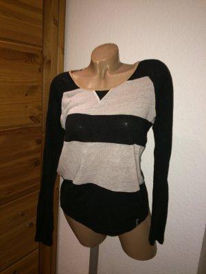 Billabong Pullover xs 34 schwarz beige