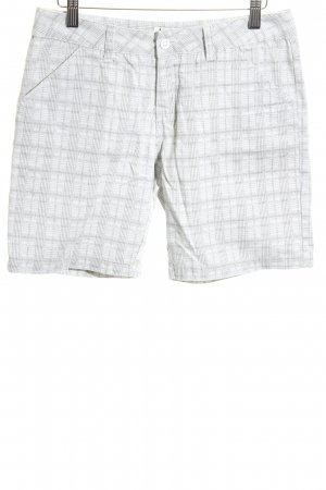 Billabong Shorts white-light grey check pattern casual look