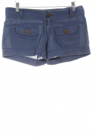Billabong Short bleu Look de plage