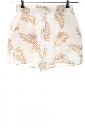Billabong Shorts oatmeal-beige floral pattern casual look