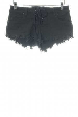 Billabong Shorts schwarz florales Muster Casual-Look