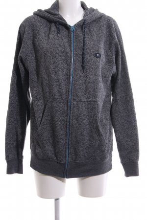 Billabong Sweat Jacket light grey flecked casual look