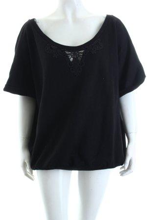 Billabong Sweatshirt schwarz Casual-Look