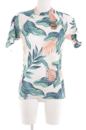 Billabong T-Shirt florales Muster Casual-Look