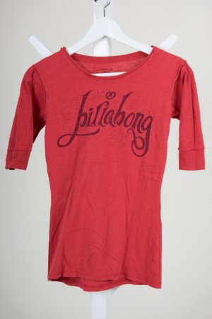 Billabong T-Shirt brick red cotton