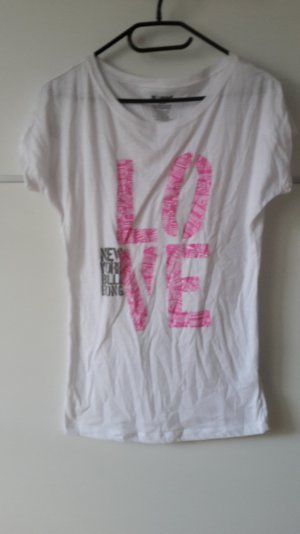 Billabong weiß Shirt LOVE NYC