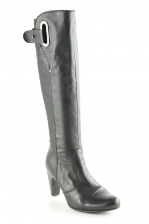 Billi Bi Absatz Stiefel schwarz Elegant