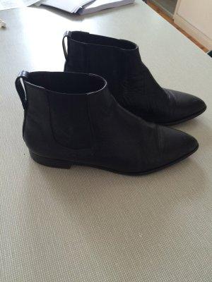 Billi Bi Boots, Chelsea boots, schwarz leder
