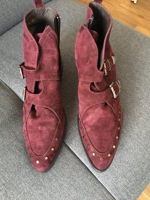 Billi Bi Boots, weinrot, 39