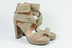 Billi Bi Platform Sandals multicolored leather