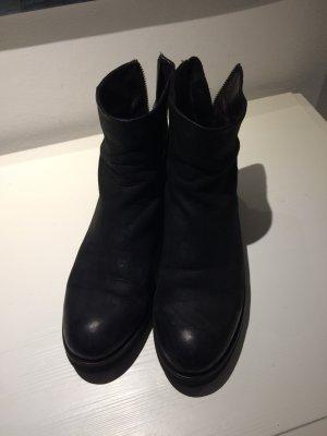 Billi Bi Stiefelette Gr. 40 schwarz Nubukleder