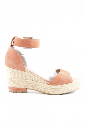 Billi Bi Wedges Sandaletten hellrot Beach-Look