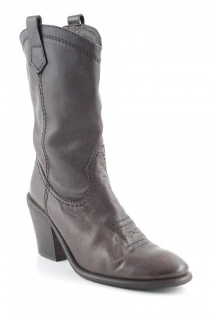 Billi Bi Stivale western marrone-nero stile country