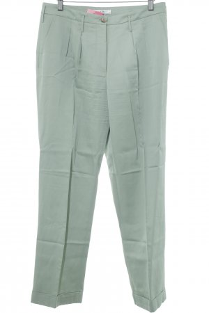 Bimba & Lola Pleated Trousers sage green business style