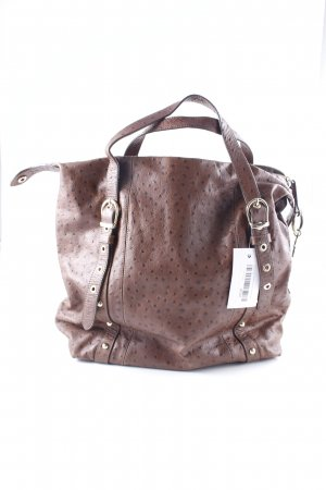 Bimba & Lola Handbag brown spot pattern casual look