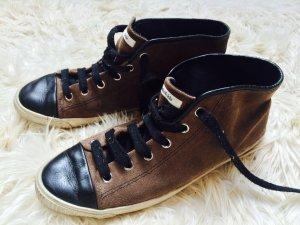 BIMBA & LOLA Lässige Sneaker: Wildleder und Glanzleder