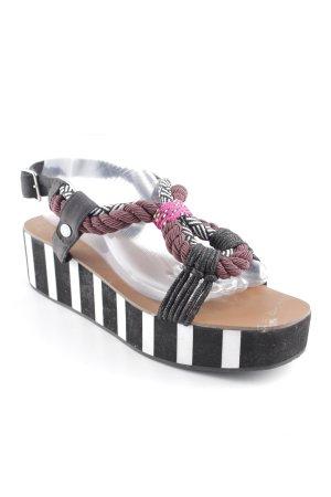 Bimba & Lola Plateauzool sandalen veelkleurig extravagante stijl