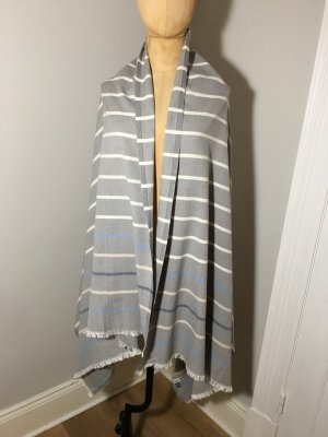 Bimba & Lola Summer Scarf grey cotton