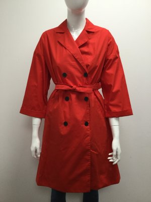 Bimba & Lola Coat red-bright red cotton