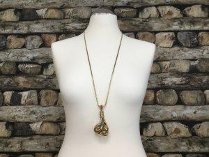 BIMBA Y LOLA Damen Kette Halskette Necklace Lang Metall Kugel Gold NEU NEU