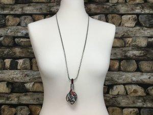 BIMBA Y LOLA Damen Kette Halskette Necklace Silber Kugel Lang NEU NEU