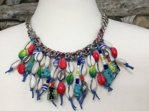 Bimba & Lola Necklace multicolored metal