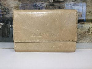 Bimba & Lola Wallet beige leather