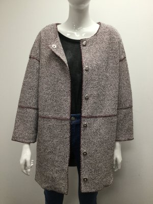 Bimba & Lola Coat multicolored cotton