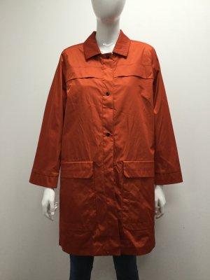 BIMBA Y LOLA Damen Matel Kurzmantel Regenjacke Jacke Rot Orangerot Orange NEU 36