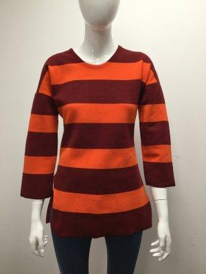 Bimba & Lola Sweater russet-neon orange polyester