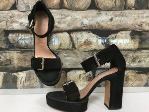 Bimba & Lola High Heels black-oatmeal leather