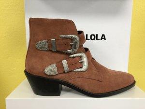 Bimba & Lola Ankle Boots multicolored leather