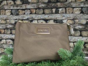 BIMBA Y LOLA Damen Tasche Handtasche Clutch Clutch-Tasche Bag Olivgrün Nylon NEU