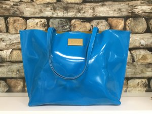 BIMBA Y LOLA Damen Tasche Handtasche Shopper Bag Hellblau Gelb Gold Groß NEU NEU