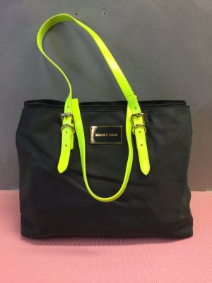 Bimba & Lola Handbag black-neon green