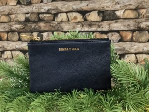 Bimba & Lola Wallet dark blue leather