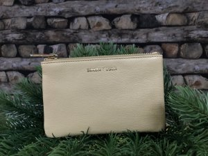 Bimba & Lola Card Case pale yellow leather
