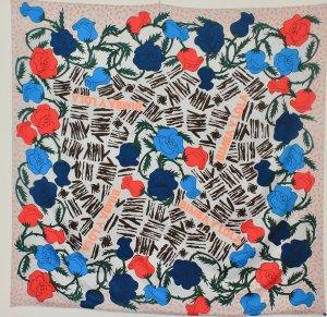 Bimba & Lola Écharpe d'été multicolore polyester