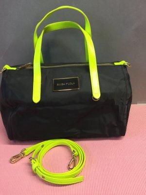Bimba & Lola Crossbody bag black-neon green
