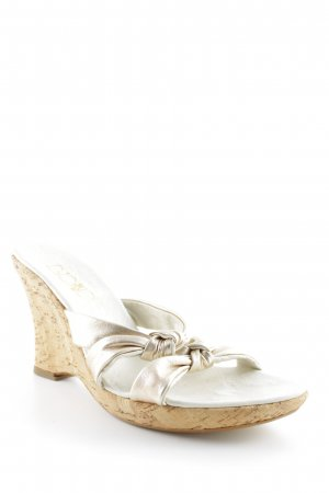 Biondini Platform High-Heeled Sandal rose-gold-coloured-oatmeal elegant