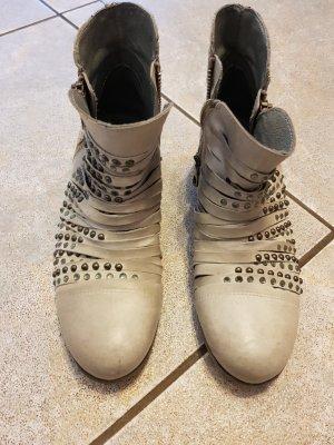 Biondini Schuhe Gr. 37 hellgrau