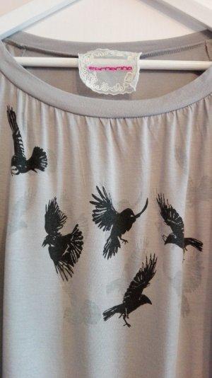 Birds, Viskoseoberteil, L, Wickeloptik
