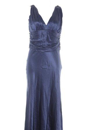 Birger et Mikkelsen Abendkleid dunkelblau Elegant