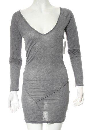 Birger et Mikkelsen Longshirt grau Street-Fashion-Look