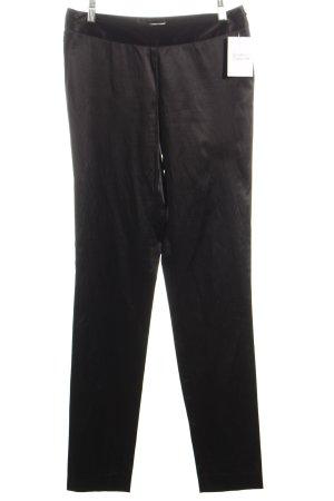 Birger et Mikkelsen Stoffen broek zwart zakelijke stijl