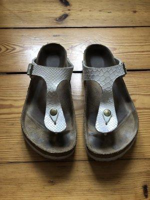 Birkenstock Toe-Post sandals white-cream