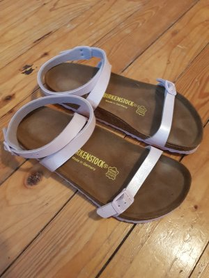 Birkenstock High-Heeled Sandals dusky pink