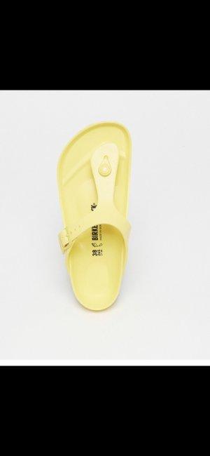 Birkenstock Sandalo infradito giallo