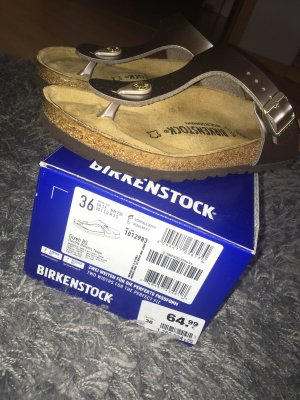 Birkenstock Toe-Post sandals silver-colored-rose-gold-coloured