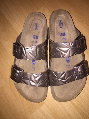 Birkenstock Mules bronze-colored
